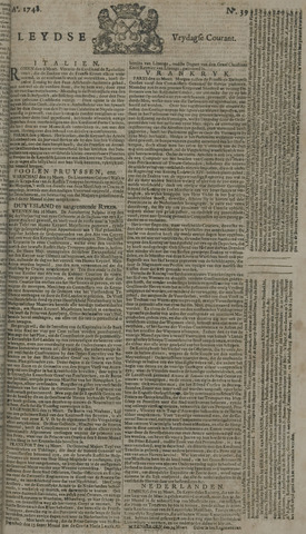Leydse Courant 1748-03-29