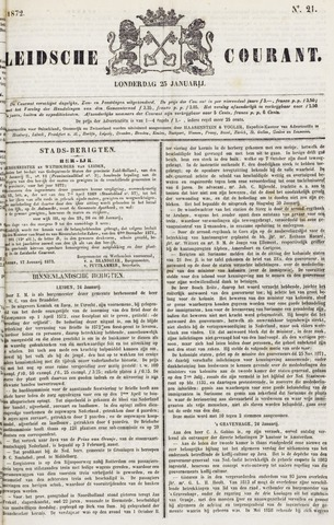 Leydse Courant 1872-01-25