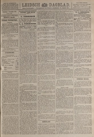 Leidsch Dagblad 1919-12-03