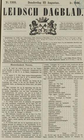 Leidsch Dagblad 1866-08-23