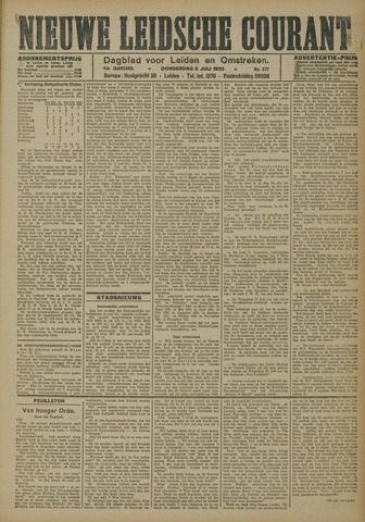Nieuwe Leidsche Courant 1923-07-05
