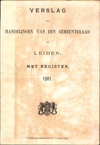 Handelingen van de Raad 1911-01-01