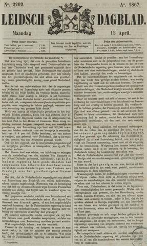 Leidsch Dagblad 1867-04-15