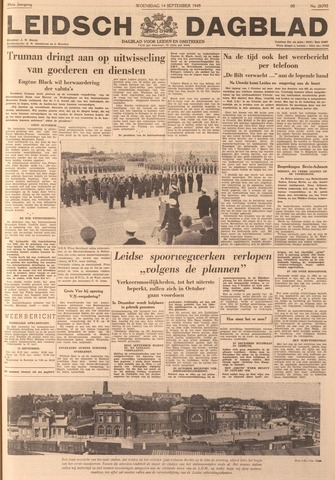 Leidsch Dagblad 1949-09-14