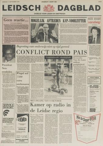 Leidsch Dagblad 1979-09-11