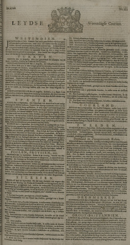 Leydse Courant 1726-10-09