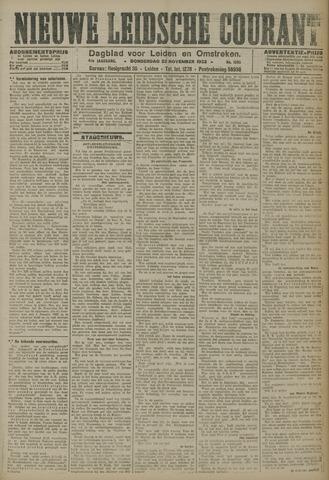 Nieuwe Leidsche Courant 1923-11-22