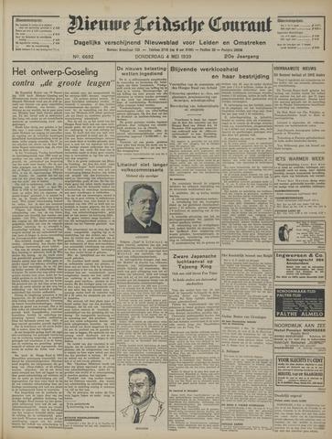 Nieuwe Leidsche Courant 1939-05-04