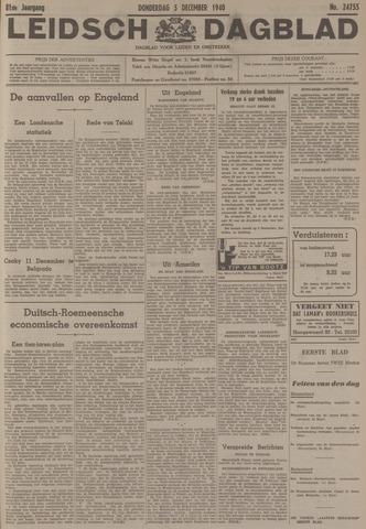 Leidsch Dagblad 1940-12-05