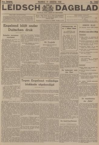 Leidsch Dagblad 1940-08-19