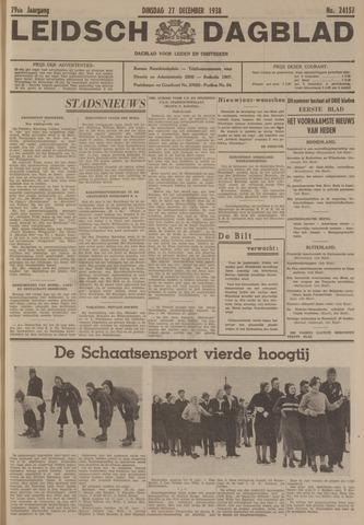 Leidsch Dagblad 1938-12-27