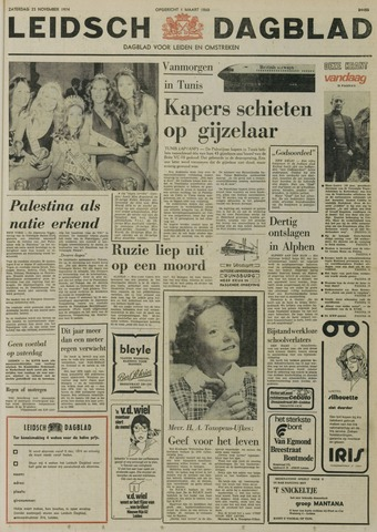 Leidsch Dagblad 1974-11-23