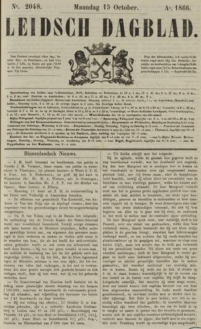 Leidsch Dagblad 1866-10-15