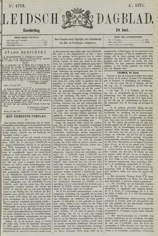 Leidsch Dagblad 1875-06-24