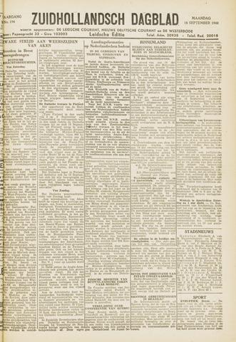 Zuidhollandsch Dagblad 1944-09-18