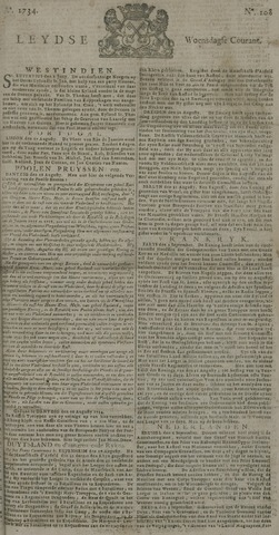 Leydse Courant 1734-09-08