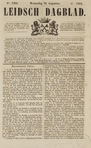 Leidsch Dagblad 1864-08-24