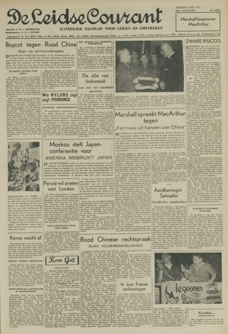 Leidse Courant 1951-05-08