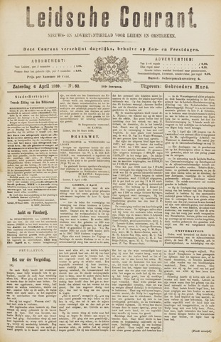 Leydse Courant 1889-04-06