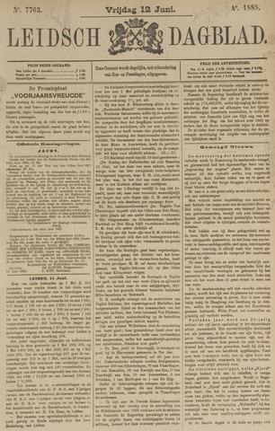 Leidsch Dagblad 1885-06-12
