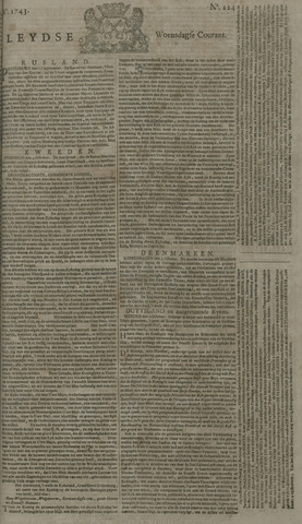 Leydse Courant 1743-10-16