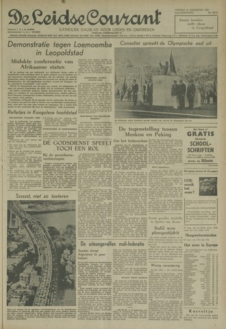Leidse Courant 1960-08-26