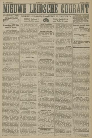 Nieuwe Leidsche Courant 1927-09-05