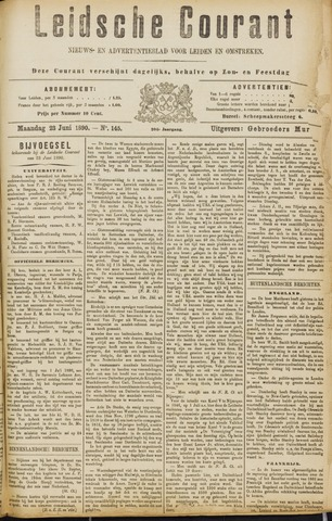 Leydse Courant 1890-06-23