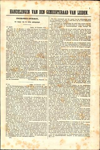 Handelingen van de Raad 1873-12-29