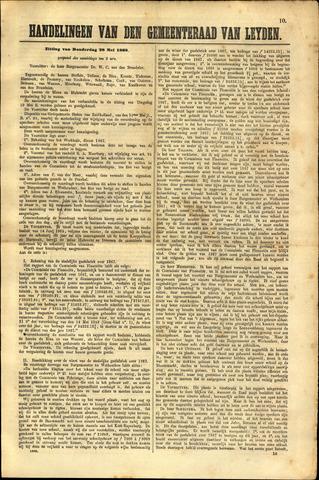 Handelingen van de Raad 1868-05-28