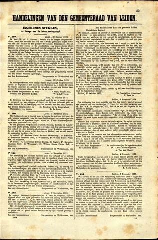 Handelingen van de Raad 1873-10-30