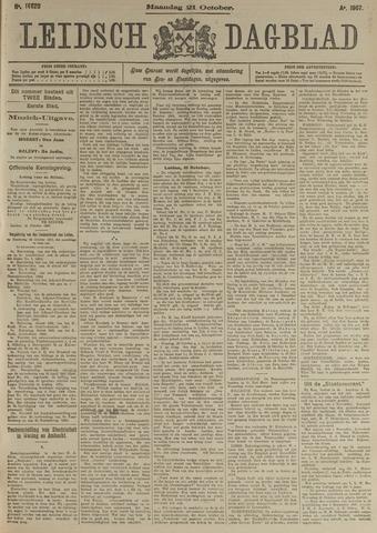 Leidsch Dagblad 1907-10-21