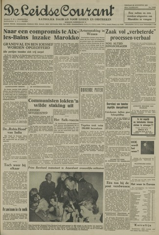 Leidse Courant 1955-08-26