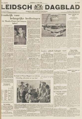 Leidsch Dagblad 1954-06-15