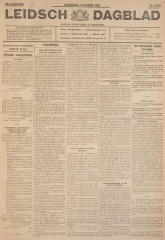 Leidsch Dagblad 1928-10-04
