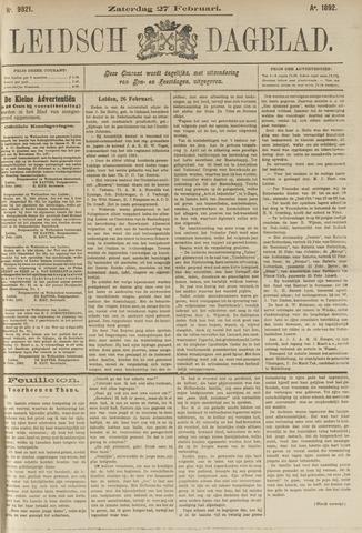 Leidsch Dagblad 1892-02-27