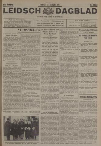 Leidsch Dagblad 1937-01-22