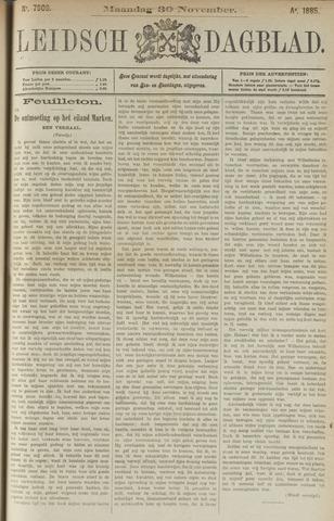 Leidsch Dagblad 1885-11-30