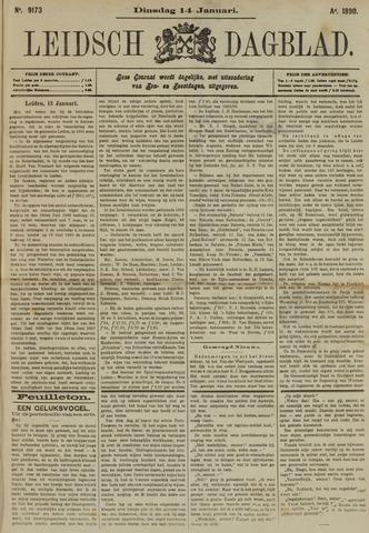Leidsch Dagblad 1890-01-14