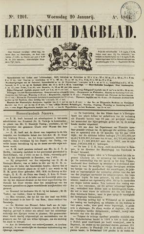 Leidsch Dagblad 1864-01-20