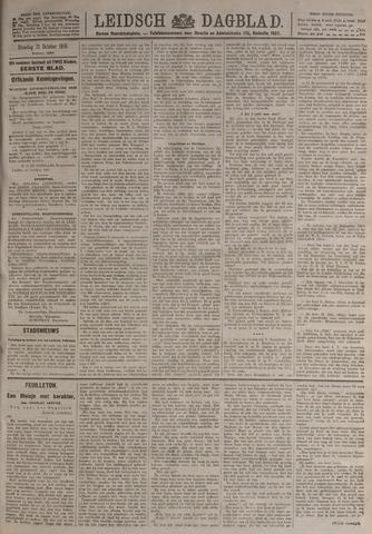 Leidsch Dagblad 1919-10-21