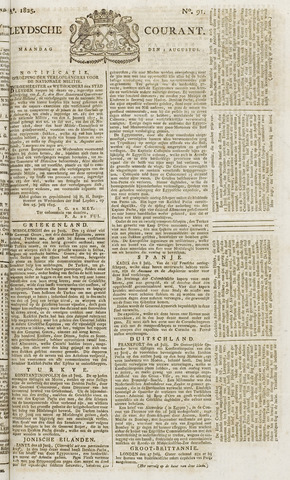Leydse Courant 1825-08-01