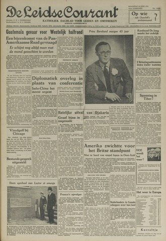 Leidse Courant 1954-06-28