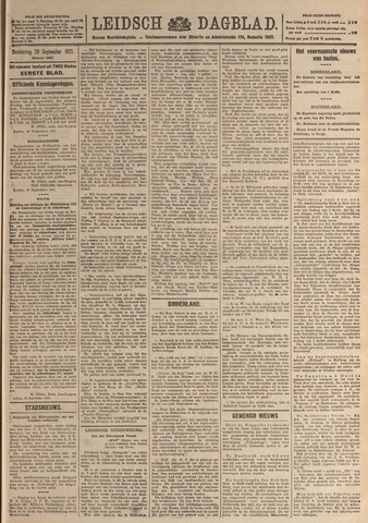 Leidsch Dagblad 1921-09-29