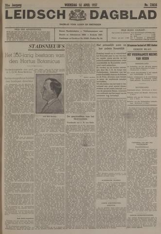 Leidsch Dagblad 1937-04-14