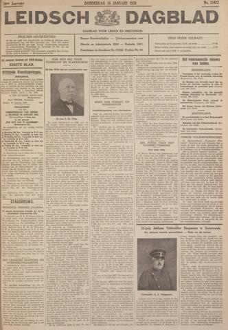 Leidsch Dagblad 1930-01-16