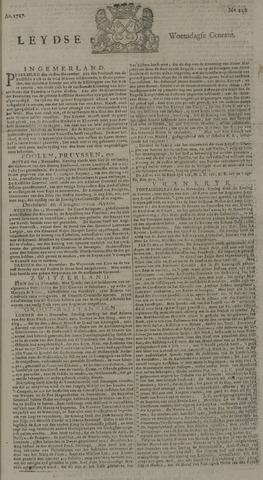 Leydse Courant 1727-11-26