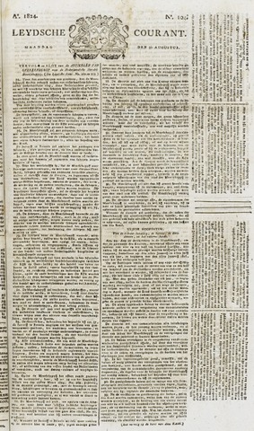 Leydse Courant 1824-08-30