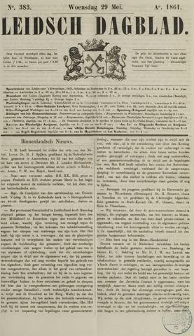 Leidsch Dagblad 1861-05-29