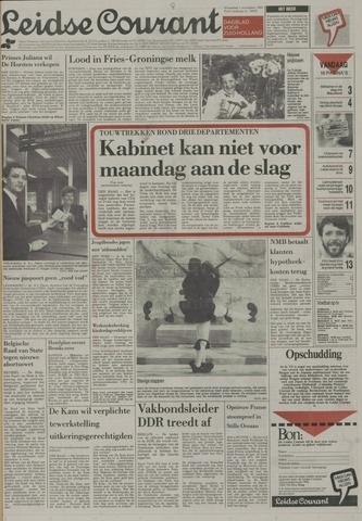 Leidse Courant 1989-11-01